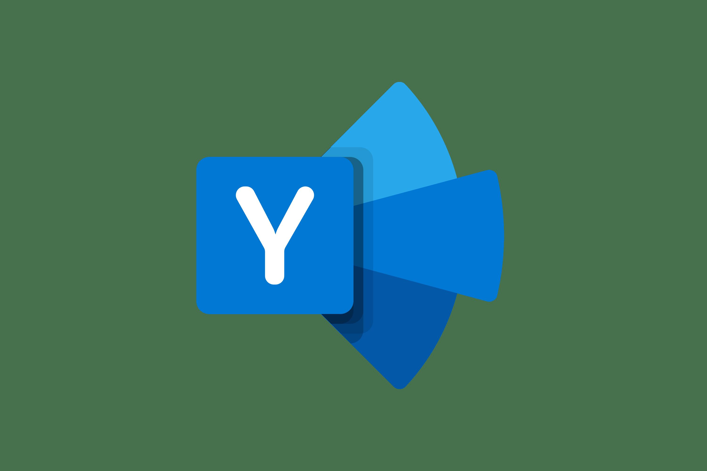 Image result for yammer logo png